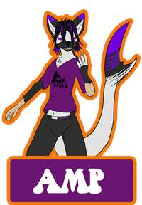 TF Badge - Amp by Dragonmanmike