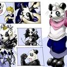 Panda Badge by Tonde