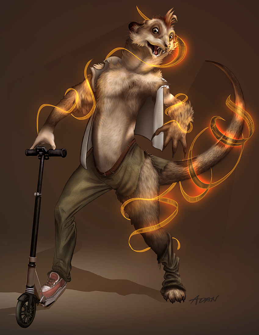 Titash the Meerkat by Adanre