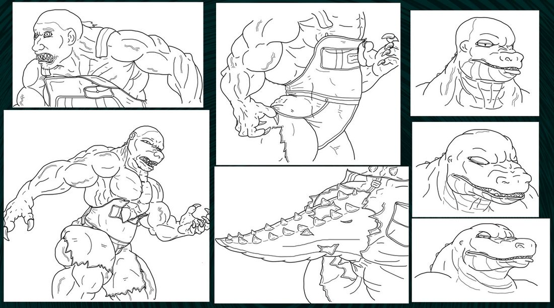(Old) Croc Compound Sequence (2015) by Adaru32