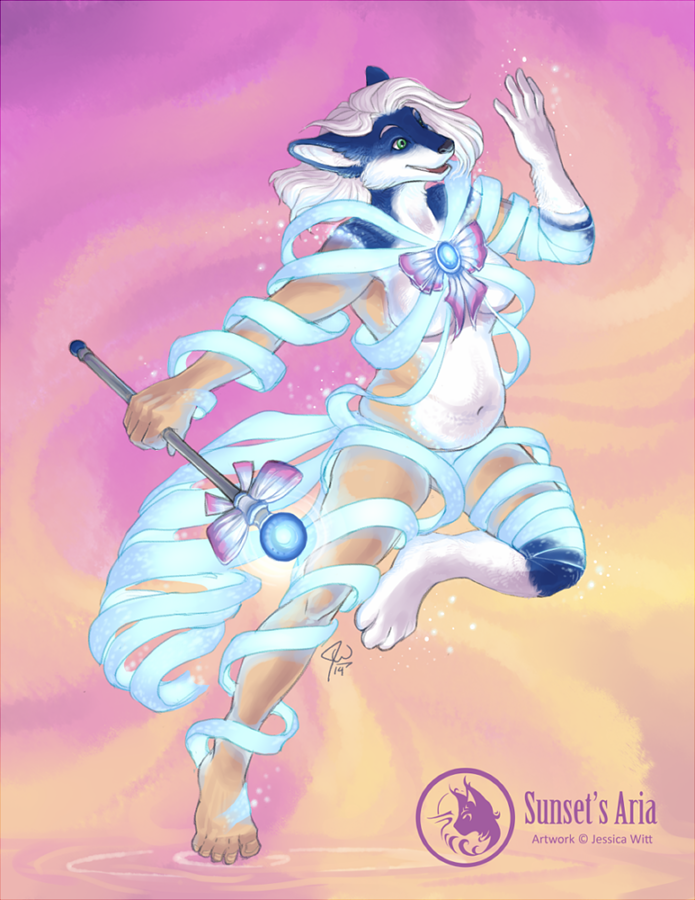 Sailor Skunk, Power Up! by Amber-Aria