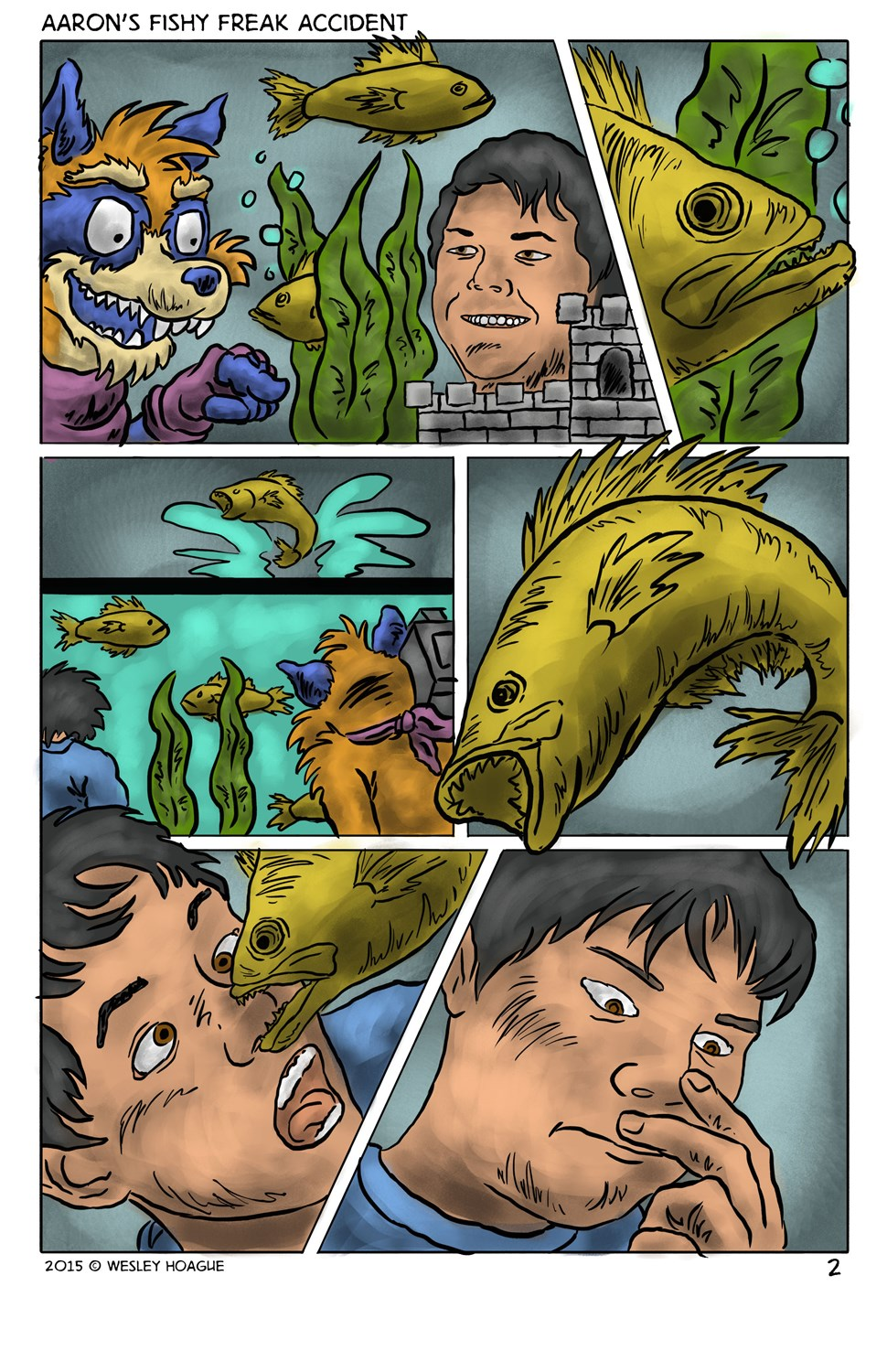 Aaron's Fishy Freak Accident by Antiquity-Varmint