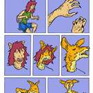 The Kangaroo Transformation Comic by Antiquity-Varmint
