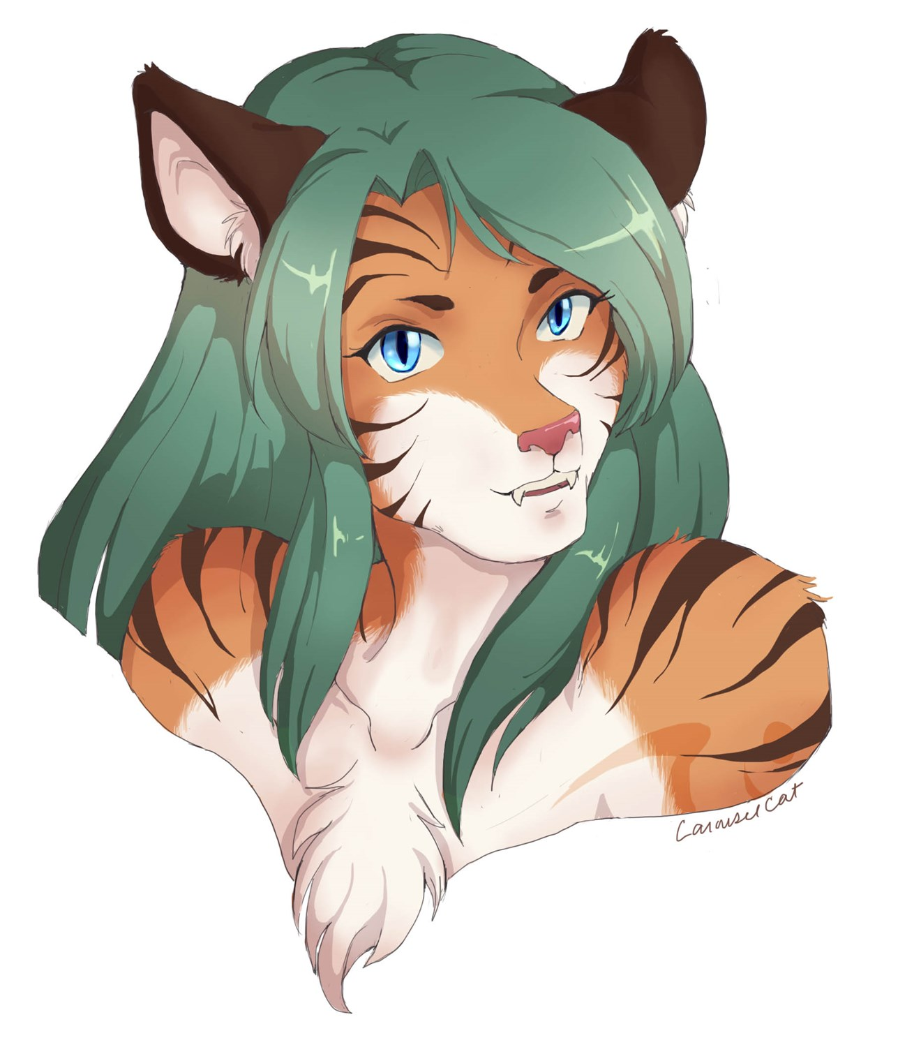 Tiger Lyn Sequece by Carousel-Cat