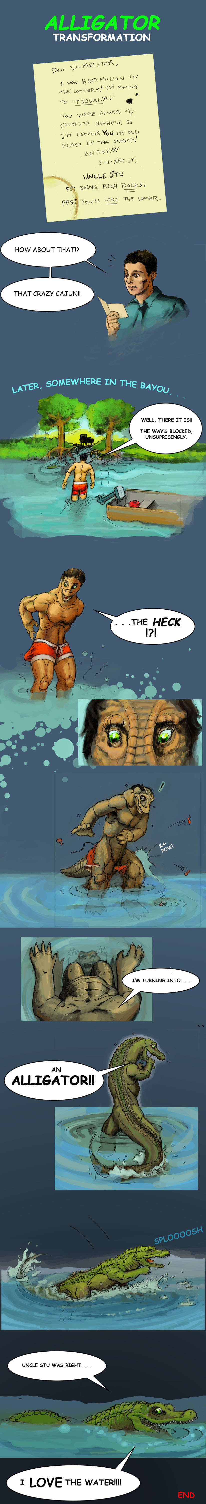 Alligator Transformation by Cayuga