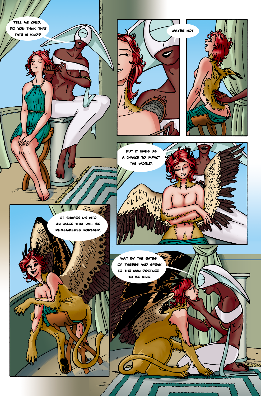 Oracle and Sphinx by Comic