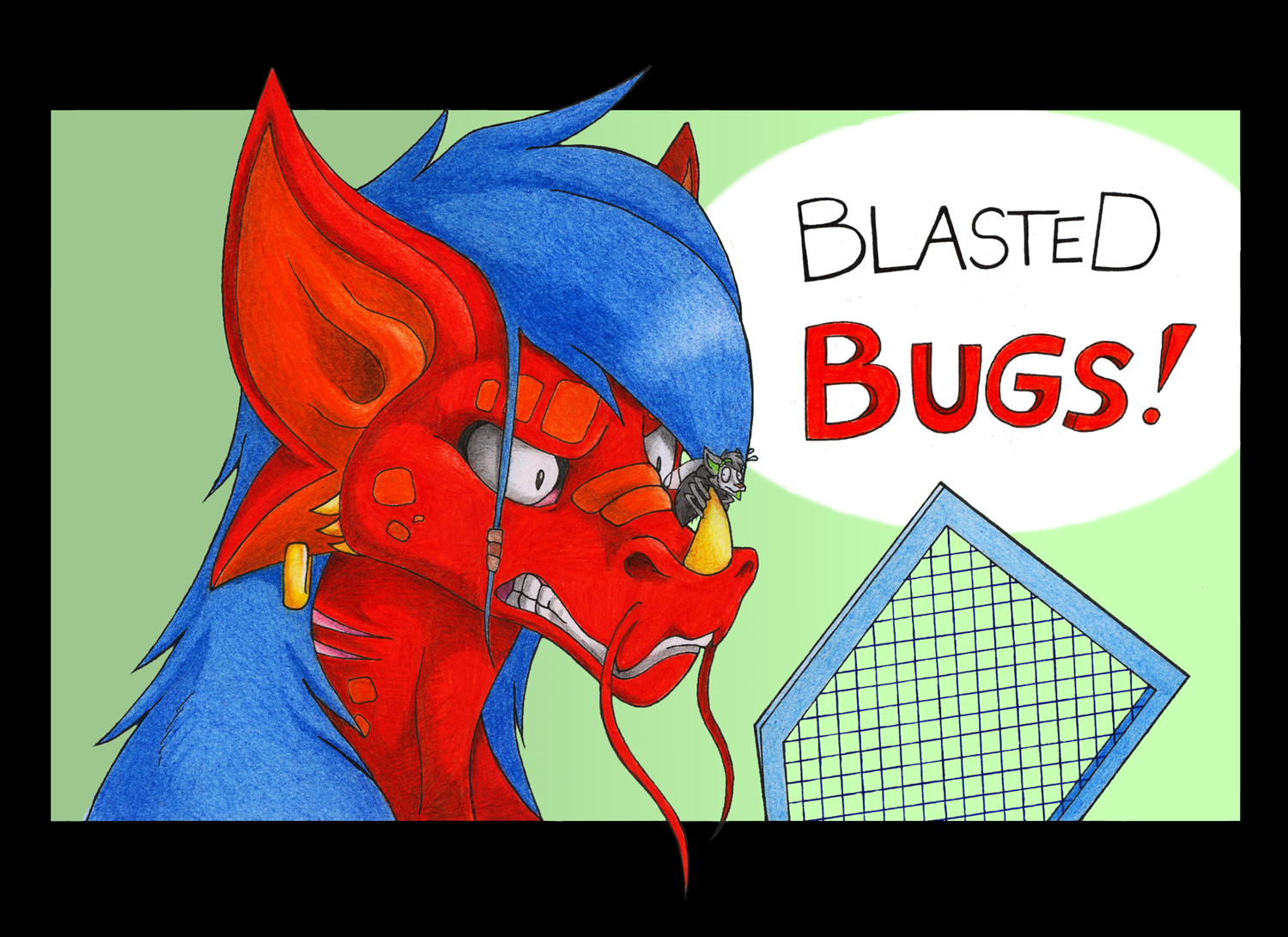 Blasted bugs ! by Danwolf