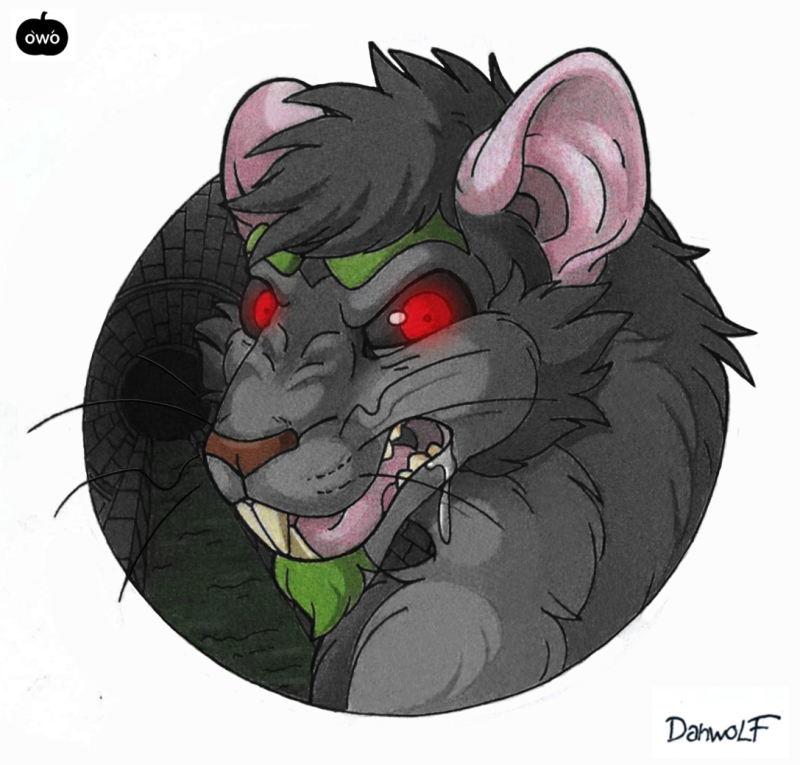 Sewer rat by Danwolf