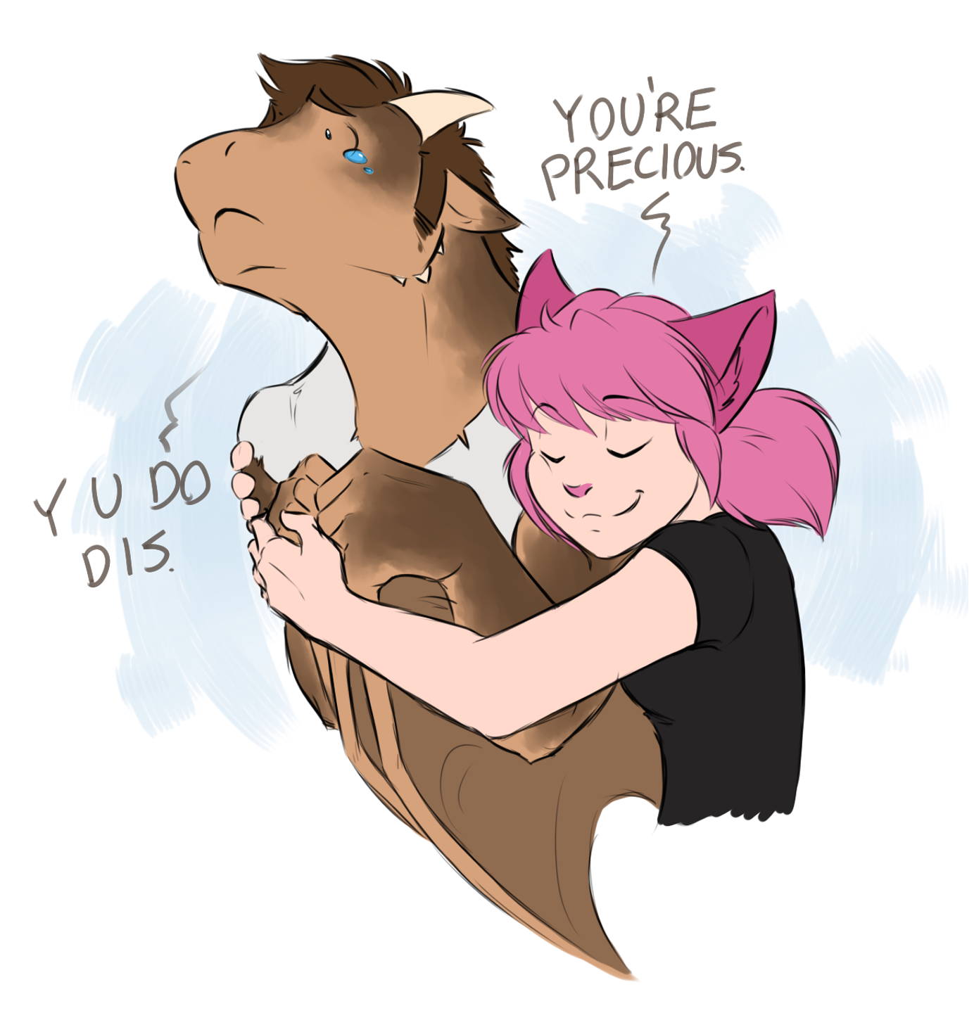 Identity Crisis and Cuddles by Evion