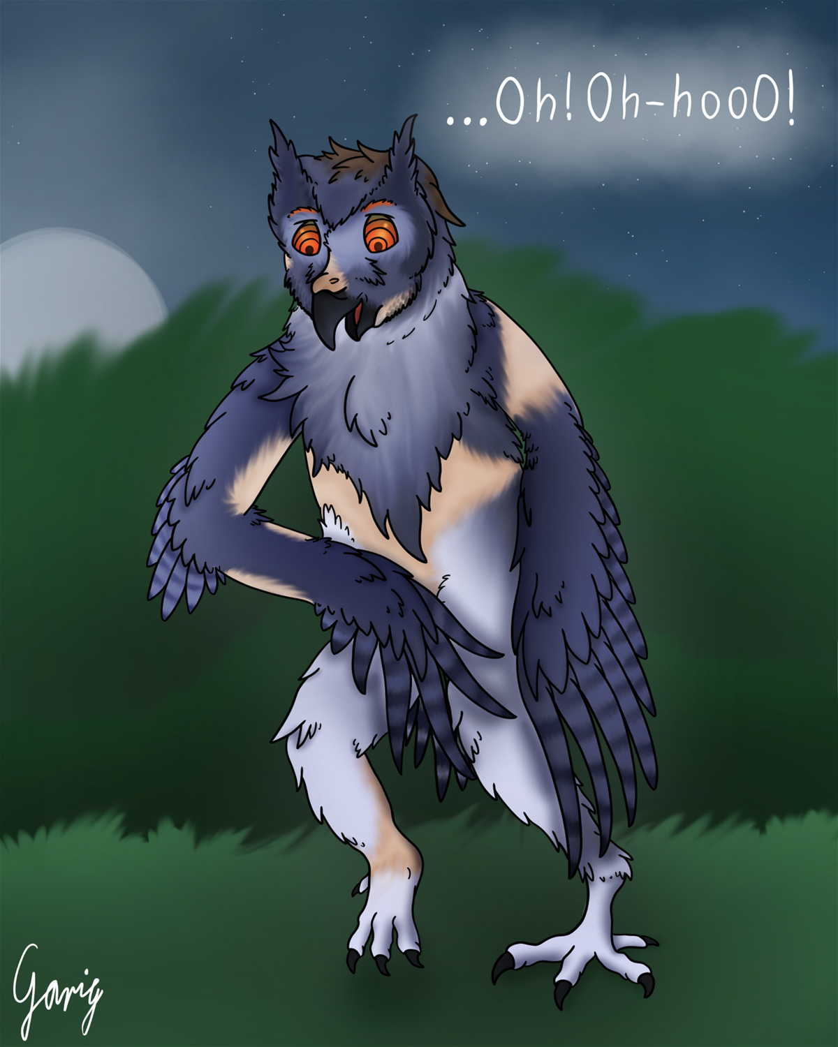 Night-time Hypnowlsis by Garig1510