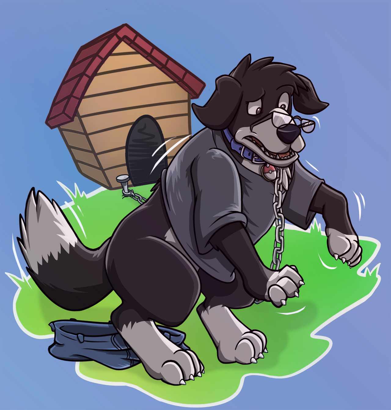 Border Collie tf by Heezy