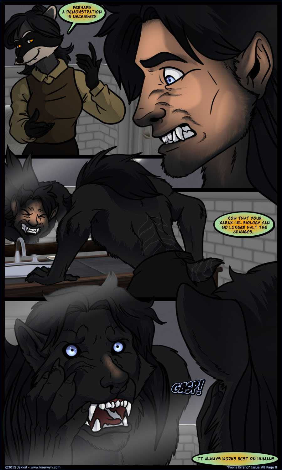 The Realm of Kaerwyn - Issue 8 Page 8 by Jakkal