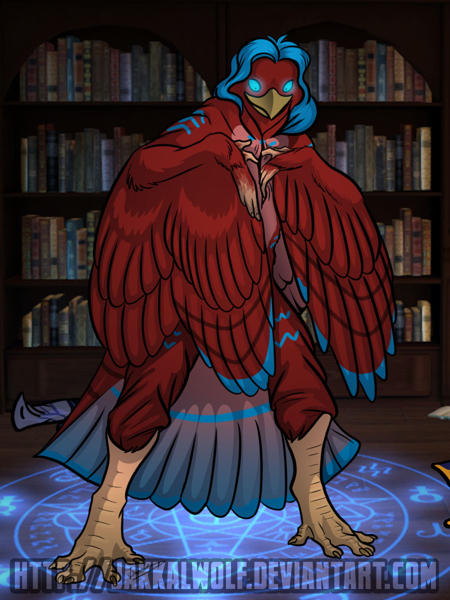 OSC: Sequence:  The Phoenix Cloak by Jakkal