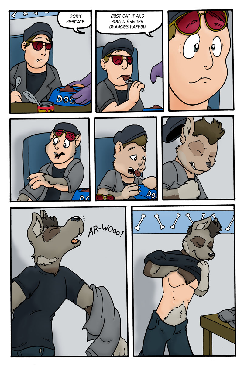 Fleckytf 2 pages by KelvinTheLion