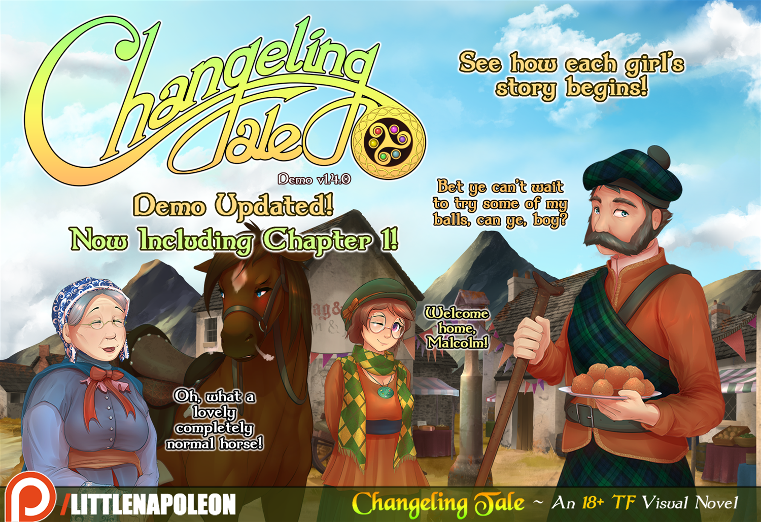 Changeling Tale - New Demo Content Added by Little Napoleon