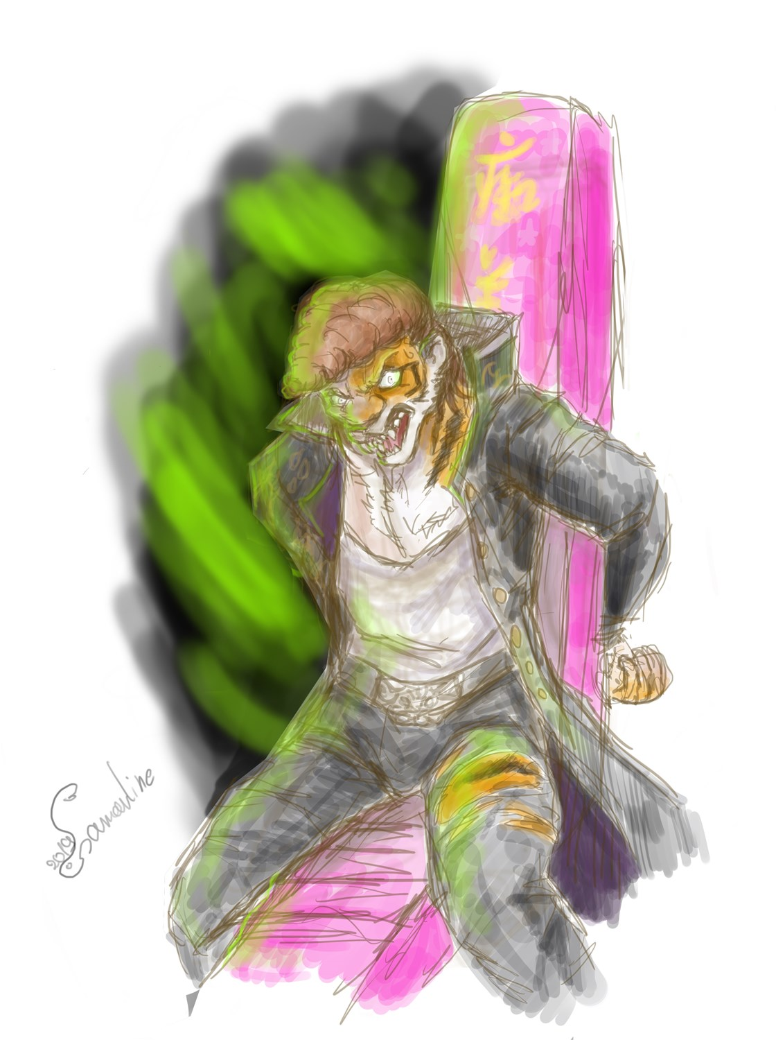 Execution Went Wrong Mondo Oowada Tiger Tf by Samarline