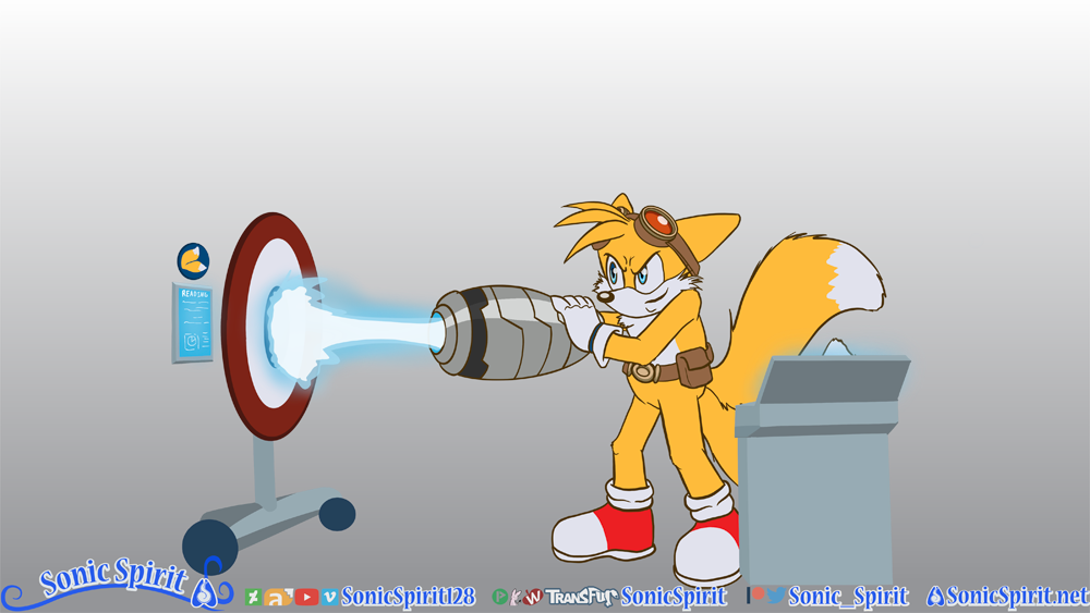 Tails to Badgerclops TF - Commission for Don-Mac by Sonicspirit