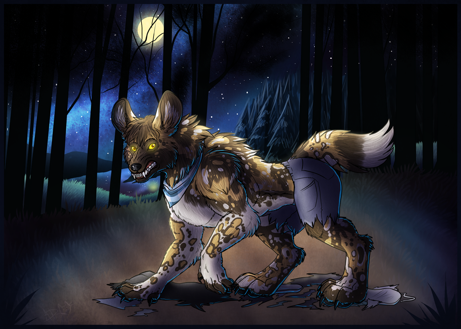 Night of the WereAWD by Spacecat