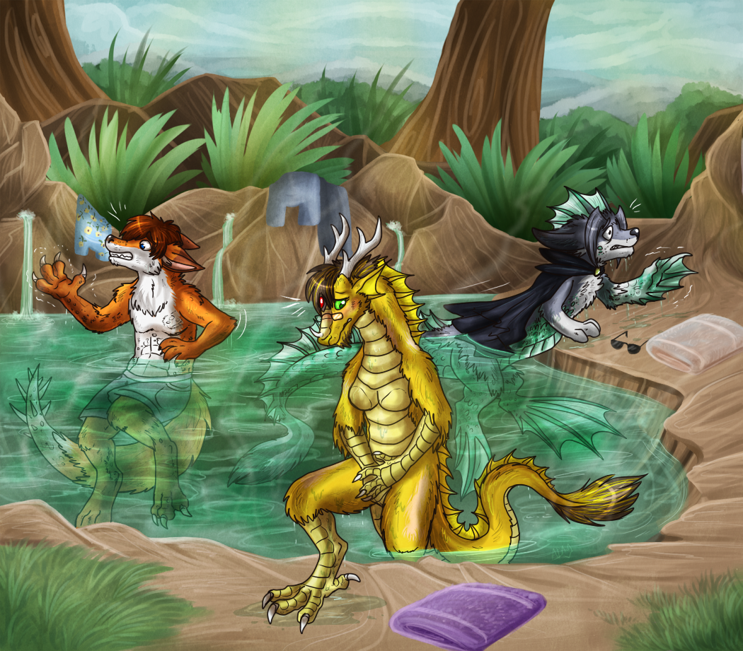 A visit to the (cursed) Hot Springs by Spacecat