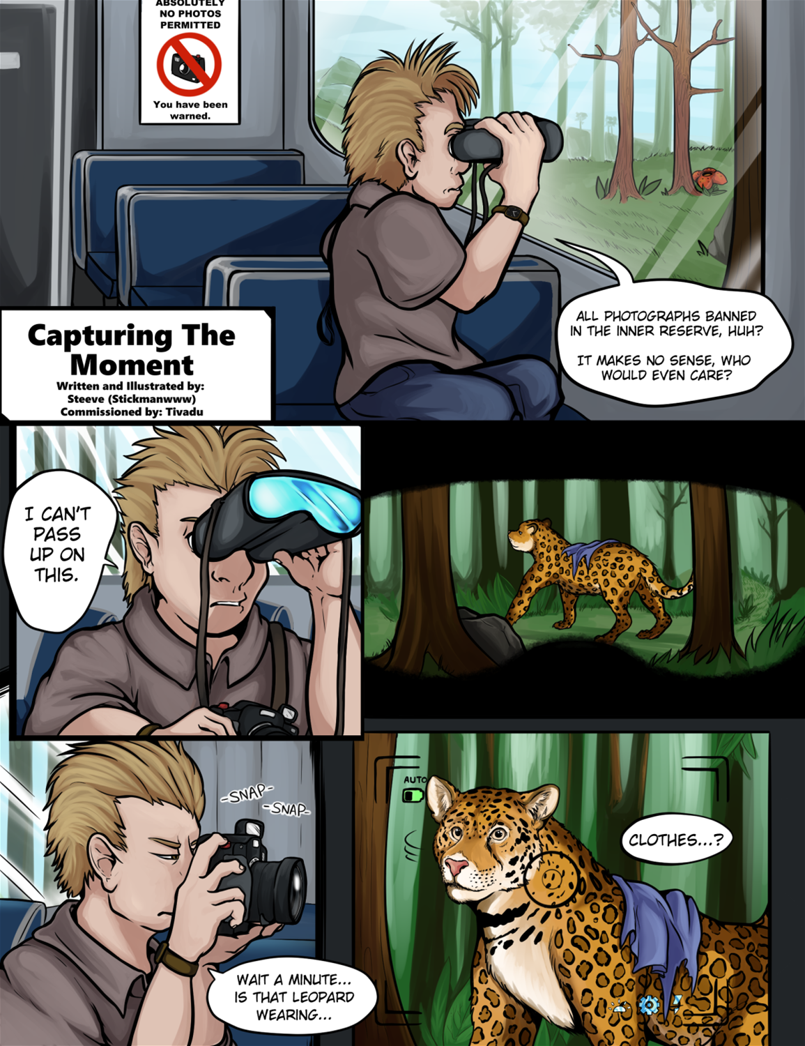 Capturing the Moment by Stickmanwww