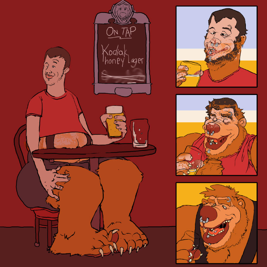 A Pint of Bear by Swatcher