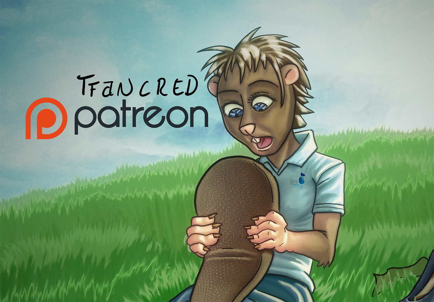B for Beaver - Patreon Preview by tfancred