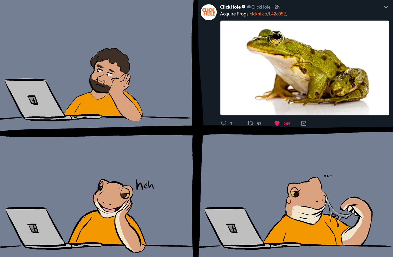 Frogs.png by THE COAST IS NEAR