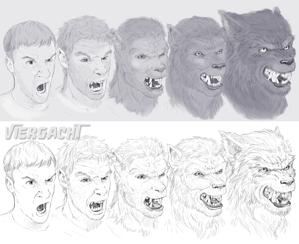 Werewolf Sequence by Viergacht