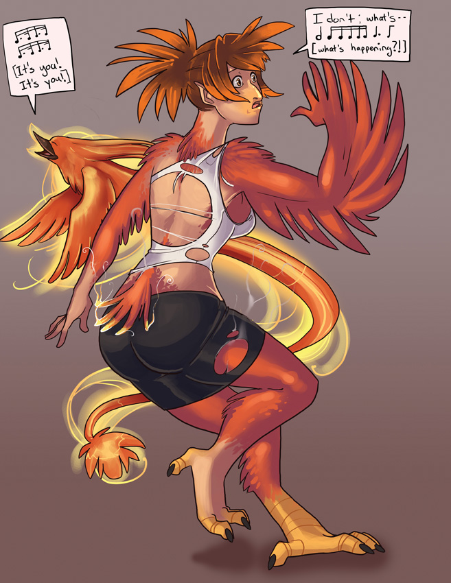 phoenix small by Angrboda