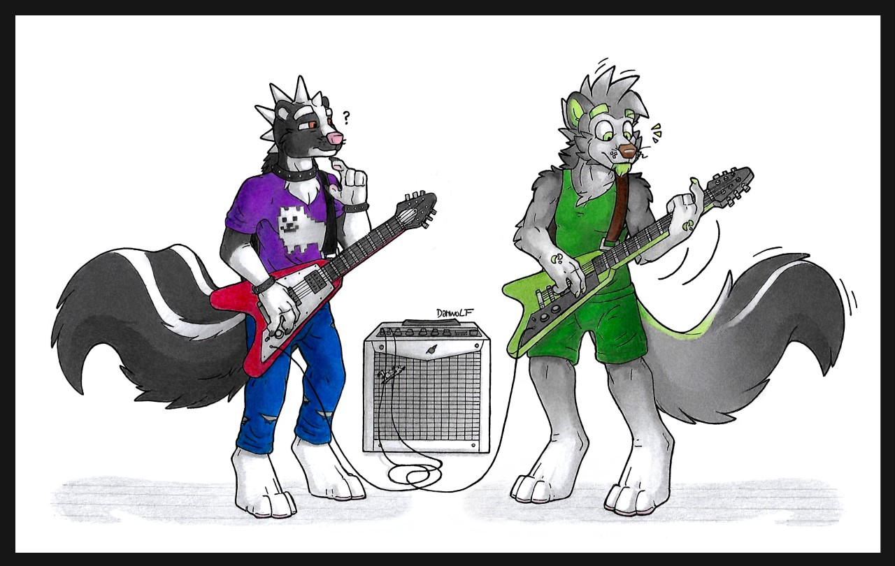 Guitar solo by Danwolf